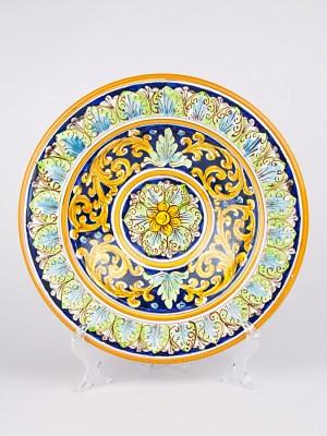 Piatto ornamentale Marocco Floreale (Ø 40)