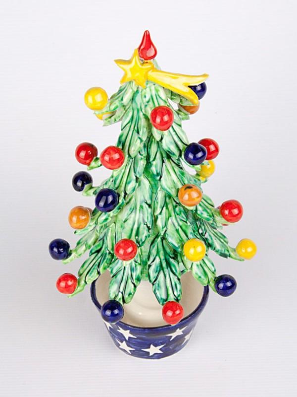 Alberello di Natale (H 17) Oggettistica - CeramicArt Caltagirone