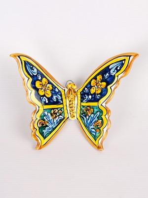 Farfalla con quartieri blu (H 15)