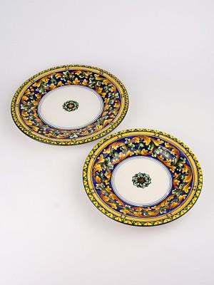 Set di piatti composto da piatto piano e piatto fondo