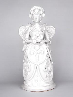 Lumiera donna raffigurante un angelo madre (H 40)