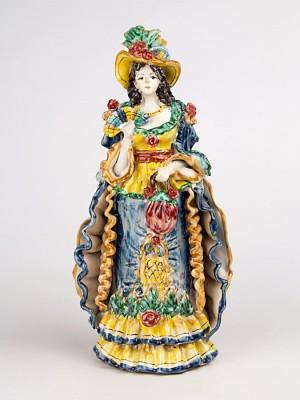 Lumiera donna con ventaglio (H 34)