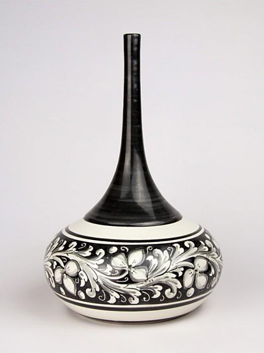 Bottiglia collo alto e stretto stile moderno (H 40)