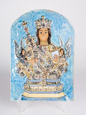 Icona a bassorilievo Sant'Agata Martire (H 33)
