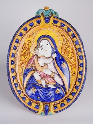 Icona a bassorilievo Maria Santissima di Conadomini (H 45)