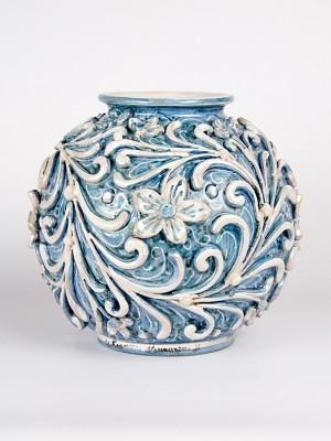 Vaso bombola barocco (H 22)