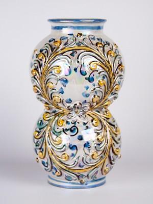 Vaso farmacia barocco (H 26)