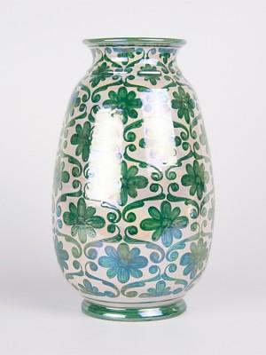 Vaso ovale spagnoleggiante (H 26)