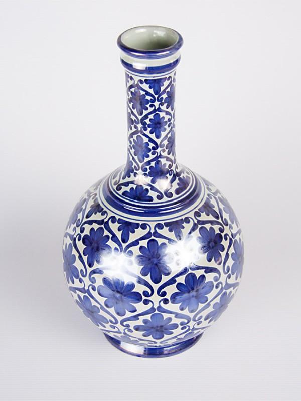 Vaso bottiglia spagnoleggiante (H 33) Vasi - CeramicArt Caltagirone