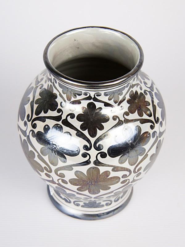 Vaso a boccia spagnoleggiante (H 19) Vasi - CeramicArt Caltagirone
