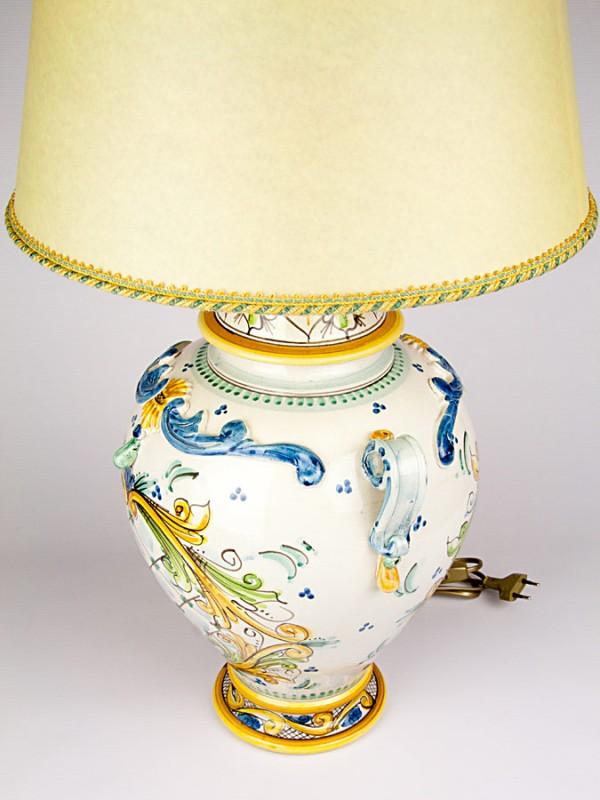 Lume goccia (H 75) Lumi - CeramicArt Caltagirone