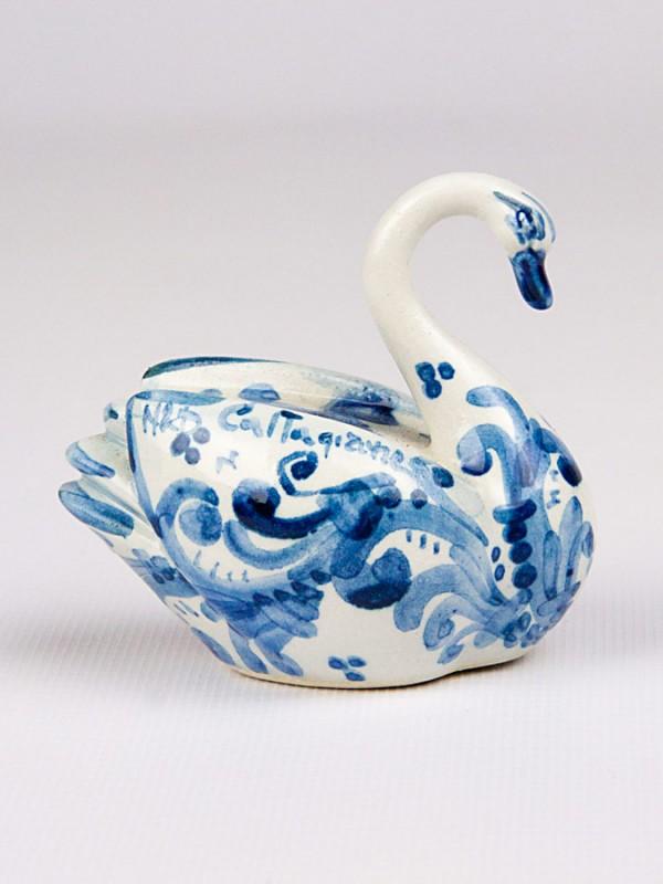 Cigno piccolo (H 7) Oggettistica - CeramicArt Caltagirone