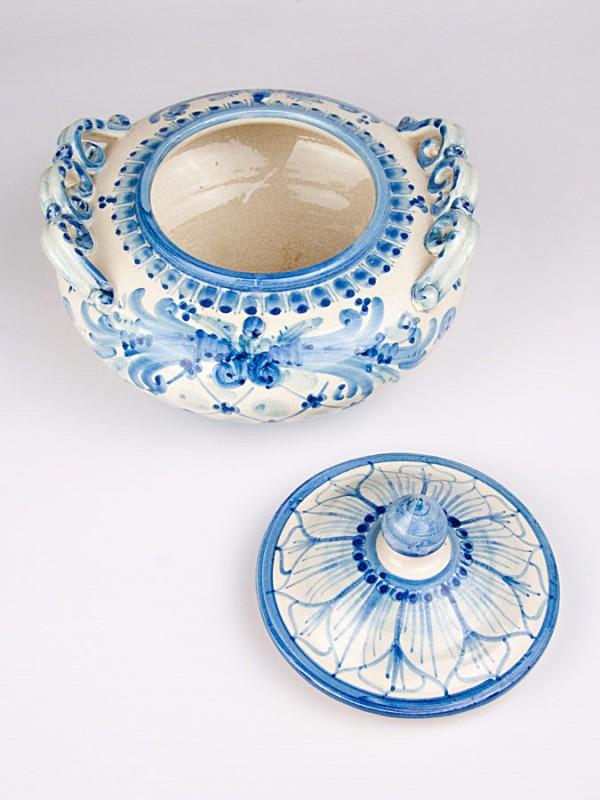 Biscottiera (Ø 20) Per la Cucina - CeramicArt Caltagirone
