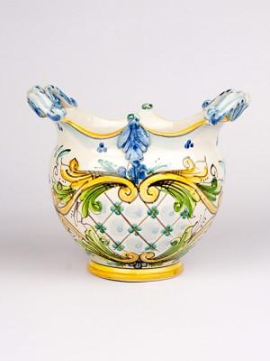 Vaso porta pianta barocco (Ø 20)