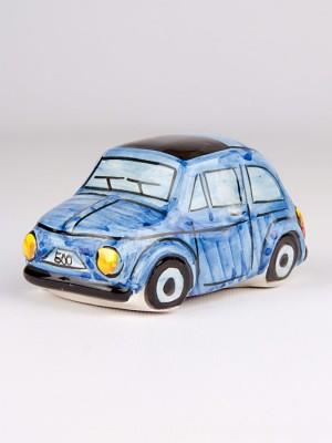 Fiat 500 blu (H 6)