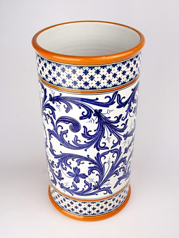 Vaso grande a cilindro (H 50) Vasi - CeramicArt Caltagirone