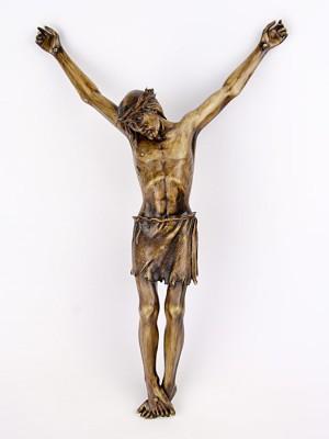 Scultura del Cristo crocifisso (Tir. Limitata) (H 40)