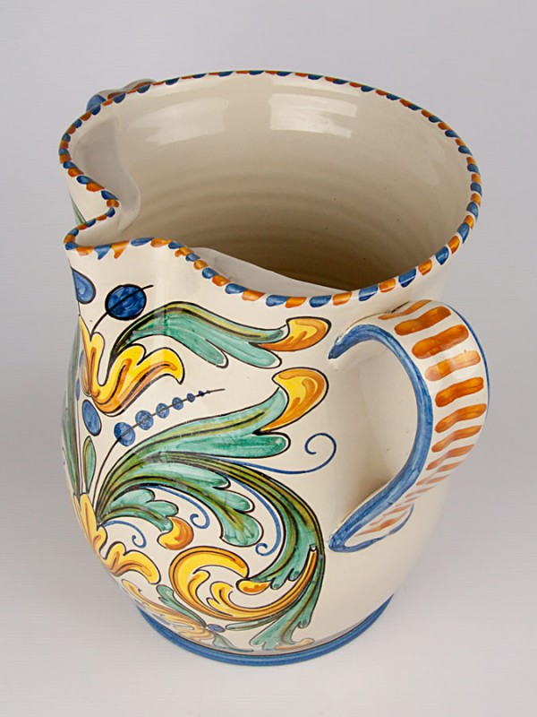 Brocca biansata (Tir. Limitata) (H 33) Oggettistica - CeramicArt Caltagirone