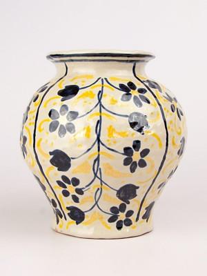 Vaso medievale con fiori (Tir. Limitata) (H 22)