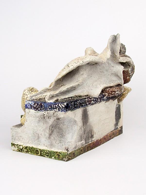 Erosione (Tir. Limitata) (H 21) Sculture - CeramicArt Caltagirone
