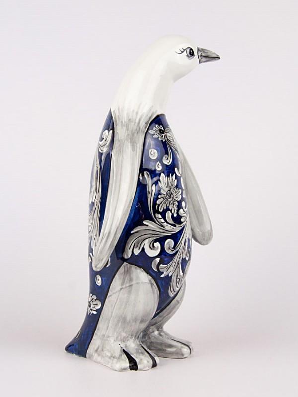 Pinguino gigante (H 30) Oggettistica - CeramicArt Caltagirone