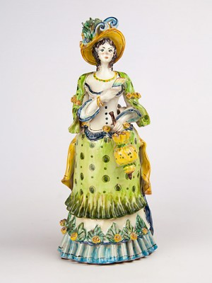Lumiera donna con ombrello (H 34)