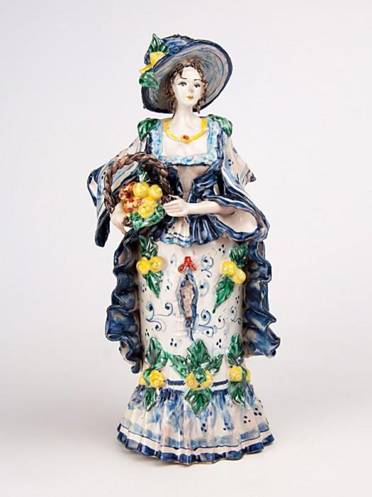 Lumiera donna con cesta (H 34)