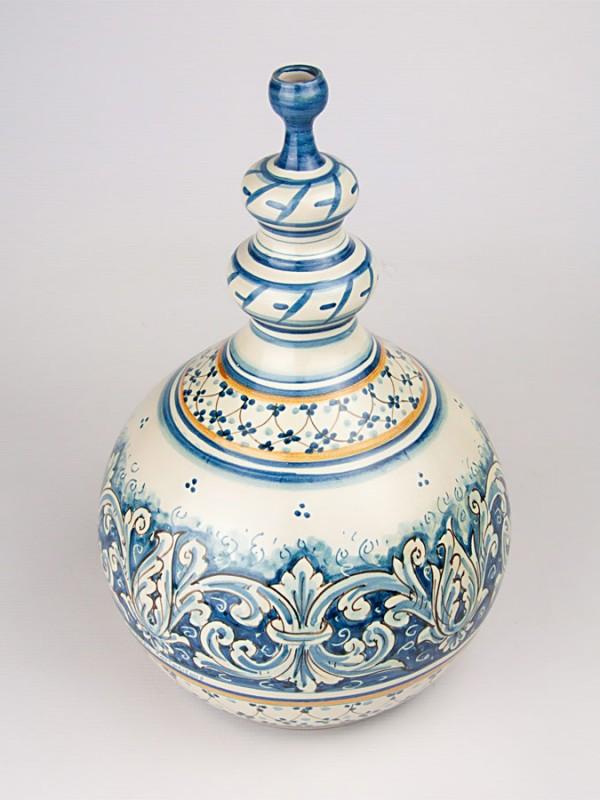Bottiglia con collo stretto (H 30) Oggettistica - CeramicArt Caltagirone