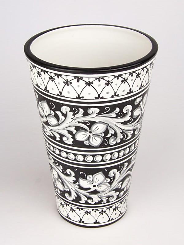 Vaso a sfasare moderno (H 30) Vasi - CeramicArt Caltagirone