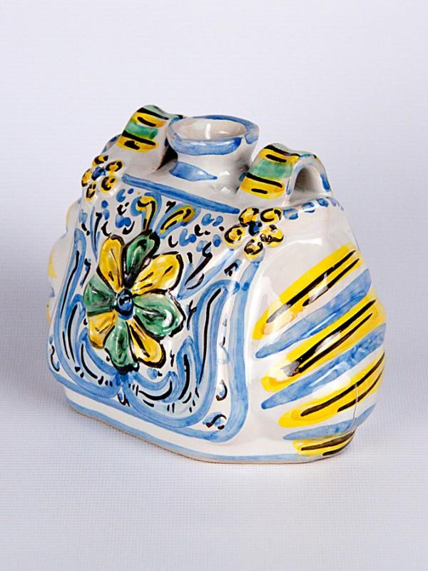 Borsetta scaldamano (H 12) Oggettistica - CeramicArt Caltagirone