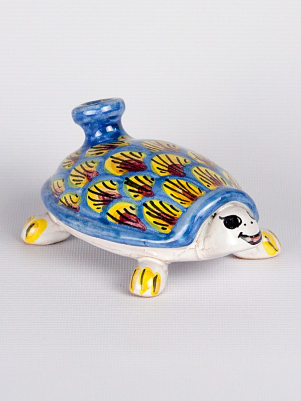 Tartaruga scaldamano (Ø 15) Oggettistica - CeramicArt Caltagirone