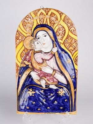 Icona a bassorilievo Maria Santissima di Conadomini (H 37)