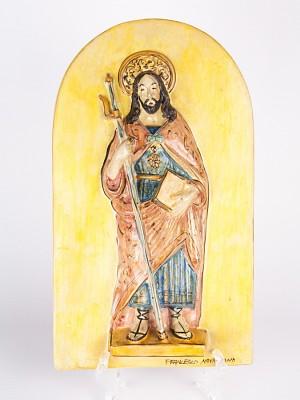 Icona a bassorilievo San Giacomo Maggiore Apostolo (H 37)
