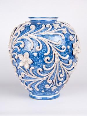 Vaso ovale barocco (H 34)