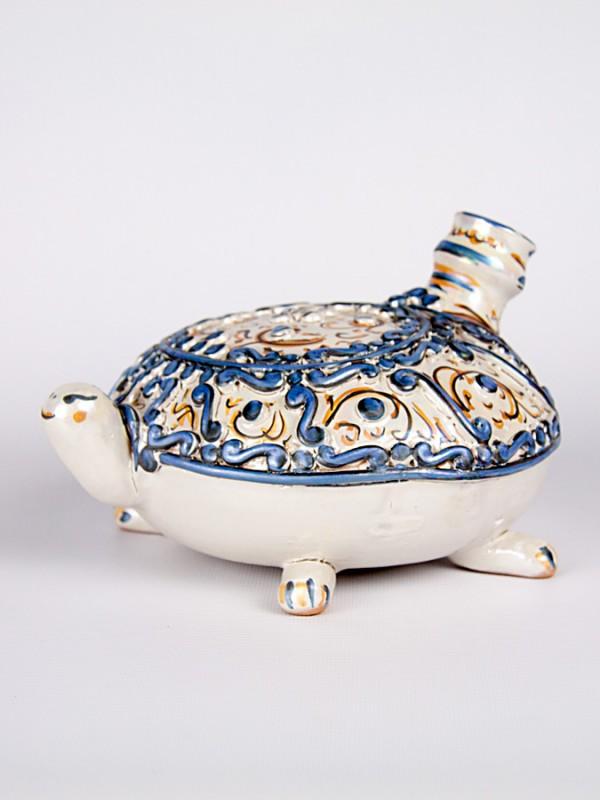 Tartaruga scaldamano (Ø 18) Oggettistica - CeramicArt Caltagirone