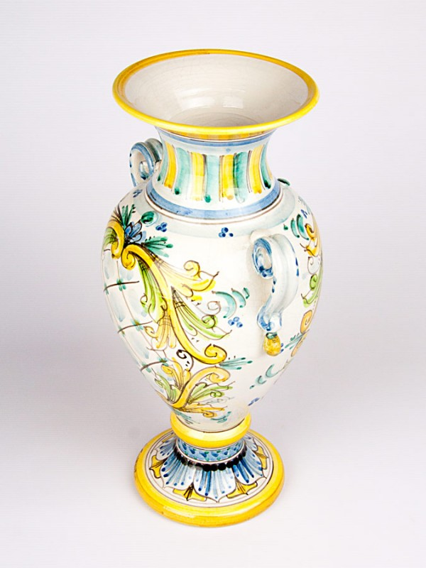 Anfora con anse applicate (H 40) Vasi - CeramicArt Caltagirone