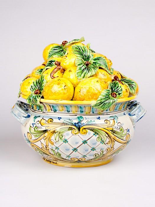 Centrotavola cesto di frutta (Ø 30)