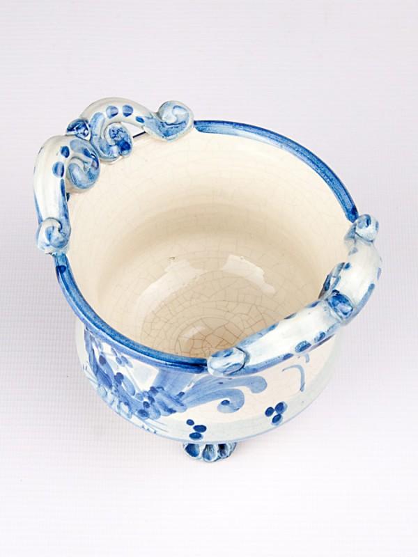 Ciotola con piedini (Ø 12) Oggettistica - CeramicArt Caltagirone
