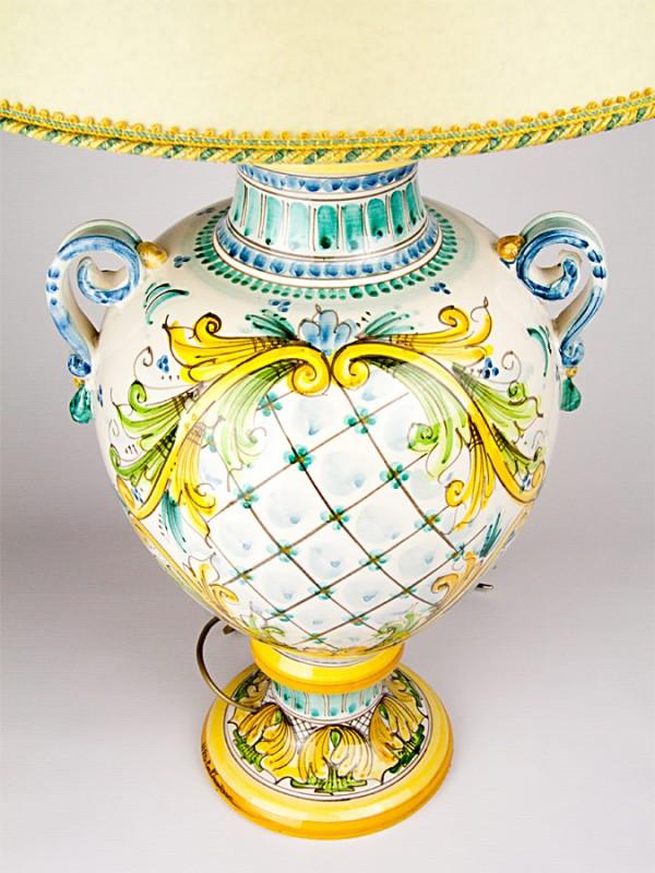 Lume impero (H 80) Lumi - CeramicArt Caltagirone