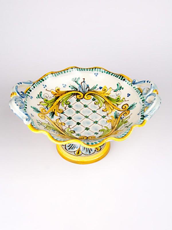 Alzata centrotavola (Ø 25) Centrotavola - CeramicArt Caltagirone