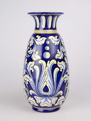 Vaso sfilato con decoro ornato (H 33)
