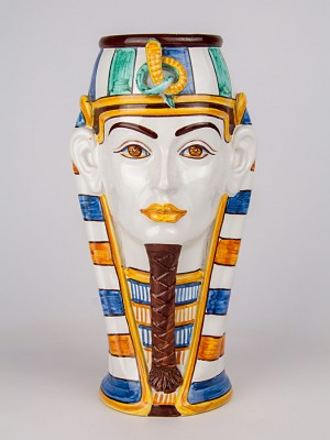 Vaso testa uomo egizia (H 33)