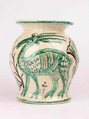 Vaso medievale con cervo (Tir. Limitata) (H 21)
