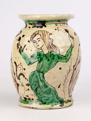Vaso medievale con figura femminile (Tir. Limitata) (H 17)