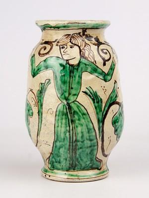 Vaso medievale con figura femminile (Tir. Limitata) (H 18)