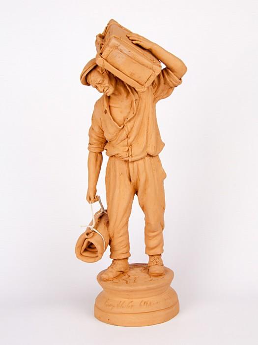 Emigrante con valigia (Tir. Militata) (H 40)