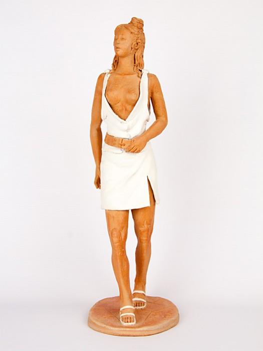 Figura di donna teutonica (Pezzo Unico) (H 45)