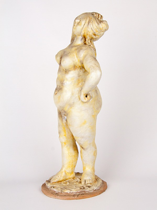 Donna formosa (Tir. Limitata) (H 40) Sculture - CeramicArt Caltagirone