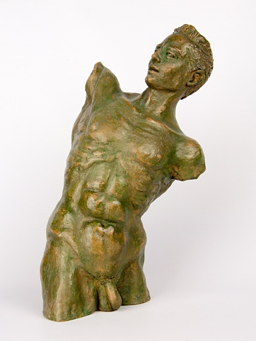 Busto uomo in torsione (Tir. Limitata) (H 30)