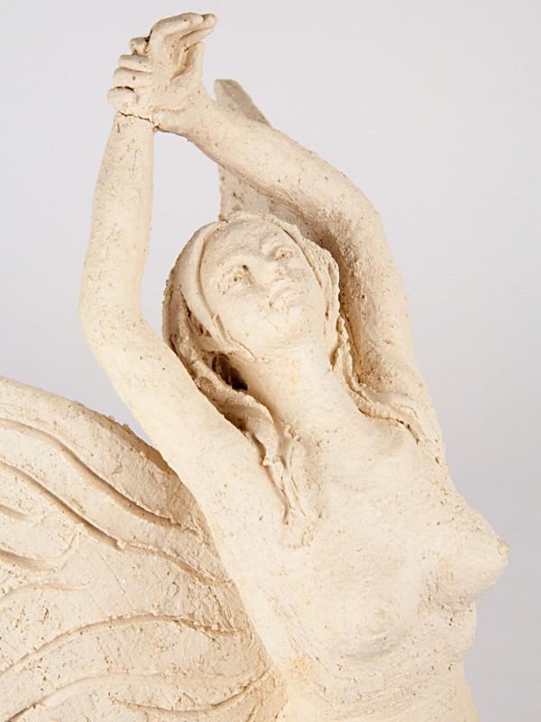 Fata estate (Tir. Limitata) (H 36) Sculture - CeramicArt Caltagirone
